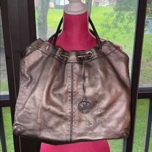 Michael Kors pewter bag